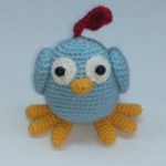 Pattern: crochet bird ChipChik