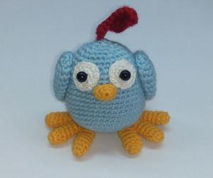 Pattern: crochet bird ChipChik