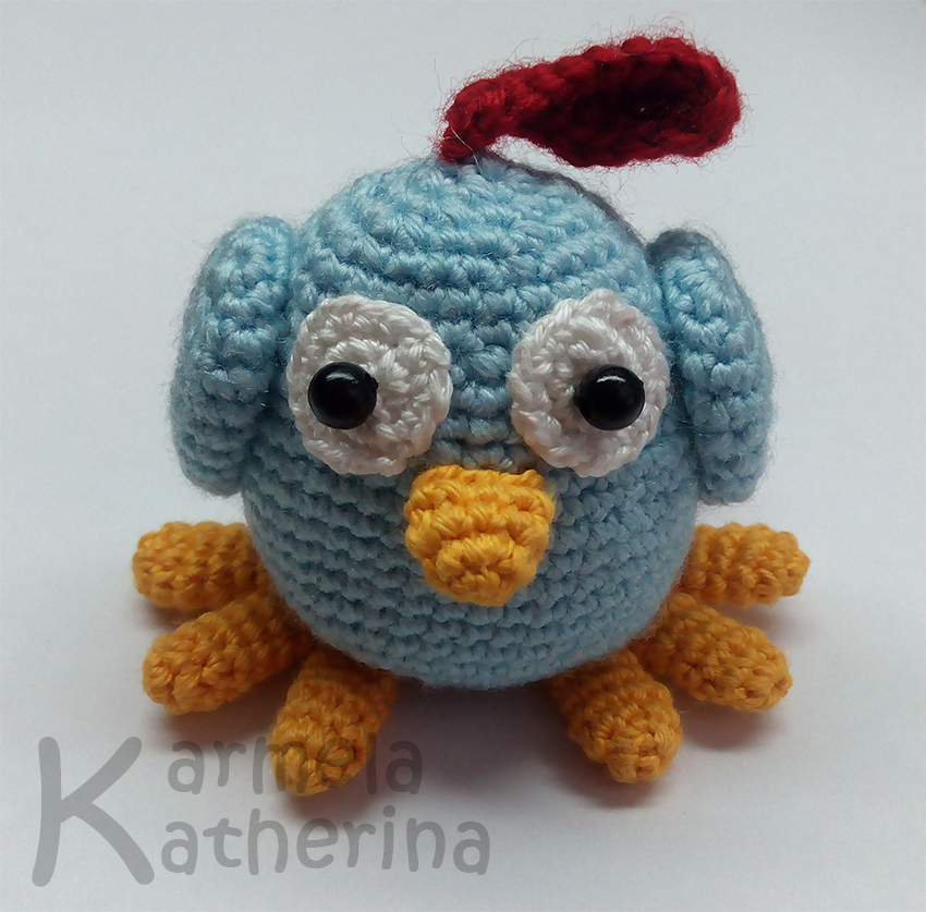 Hygge Owl Amigurumi Pattern - foot tutorial - YouTube | 837x850