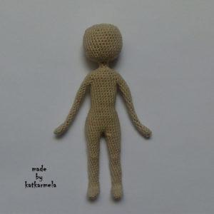каркасные вязаные куклы