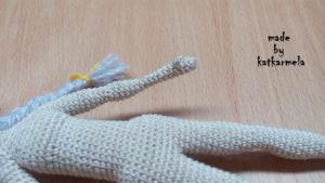 рука крючком