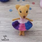 Pattern: mini fox amigurumi crochet