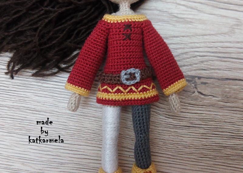 каркасные куклы вязаные крючком