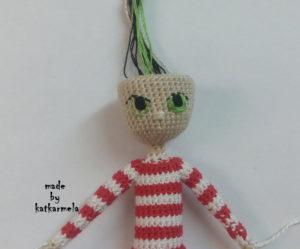 вышивка глаз куклам