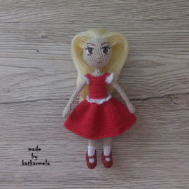How to knit a crochet doll Arisa