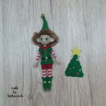 Куклы крючком со схемами: эльф Эллиот