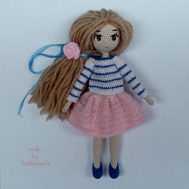мини куклы крючком схемы