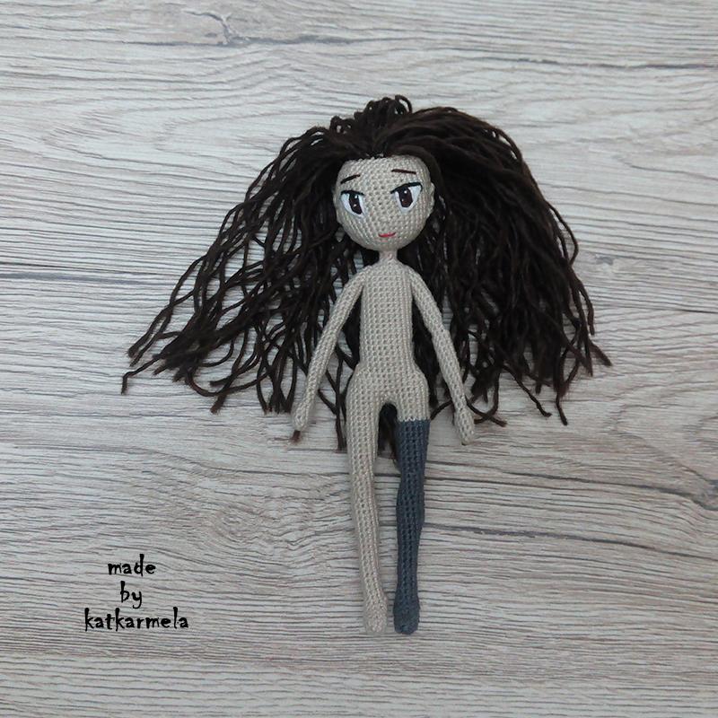 каркасная кукла амигуруми
