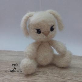 Free pattern crochet bunny Fuzzy