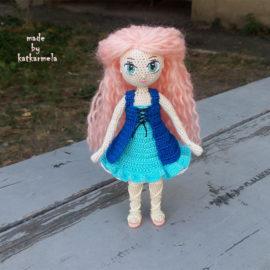 Схема в'язання каркасної ляльки гачком: Рея від Katkarmela