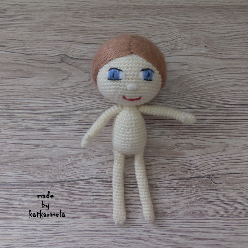 вязаная кукла схема