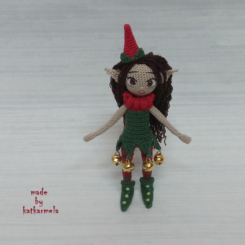 описание работы куклы крючком