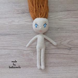 кукла крючком для начинающих