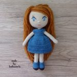 Crochet doll for beginners: Leila