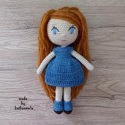 Crochet doll for beginners: Leila