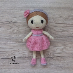 How to knit a crochet doll for beginners: Rosie