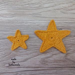 как связать звездочку крючком
