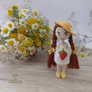 вязаная крючком кукла амигуруми