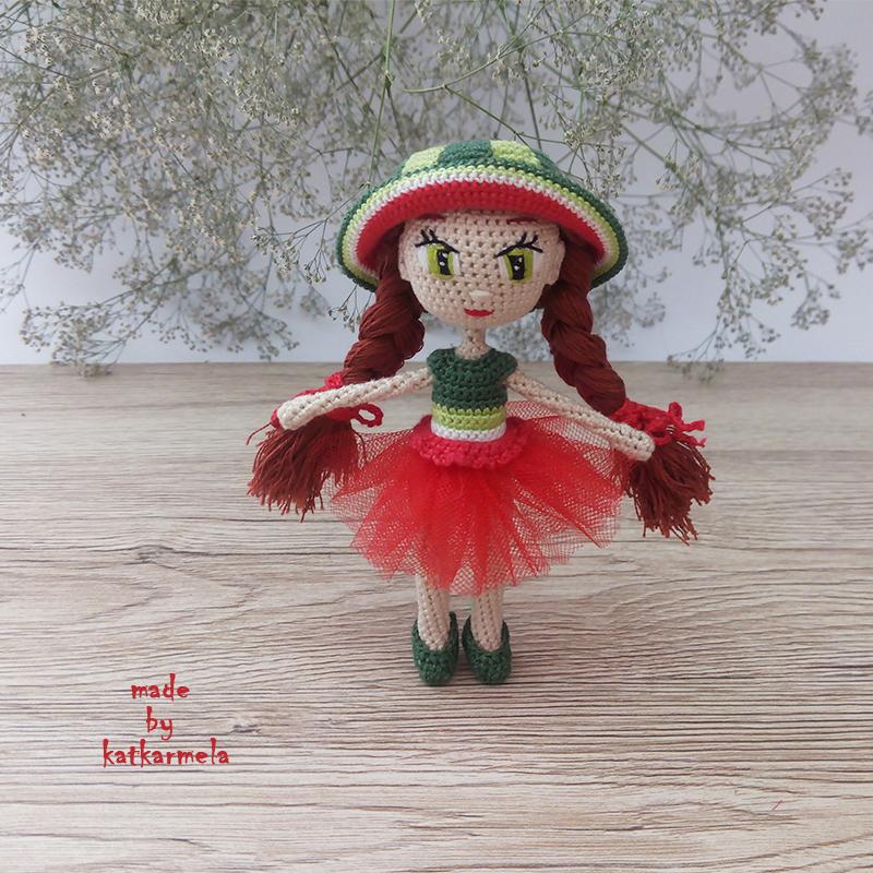 вязаная одежда для кукол со схемами