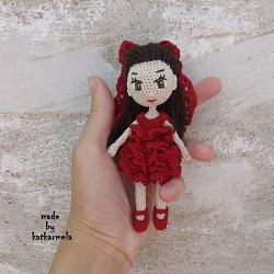Вязаная одежда для кукол своими руками: куколичка Черри