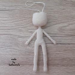 Тело куклы крючком со схемами и описанием: куколички