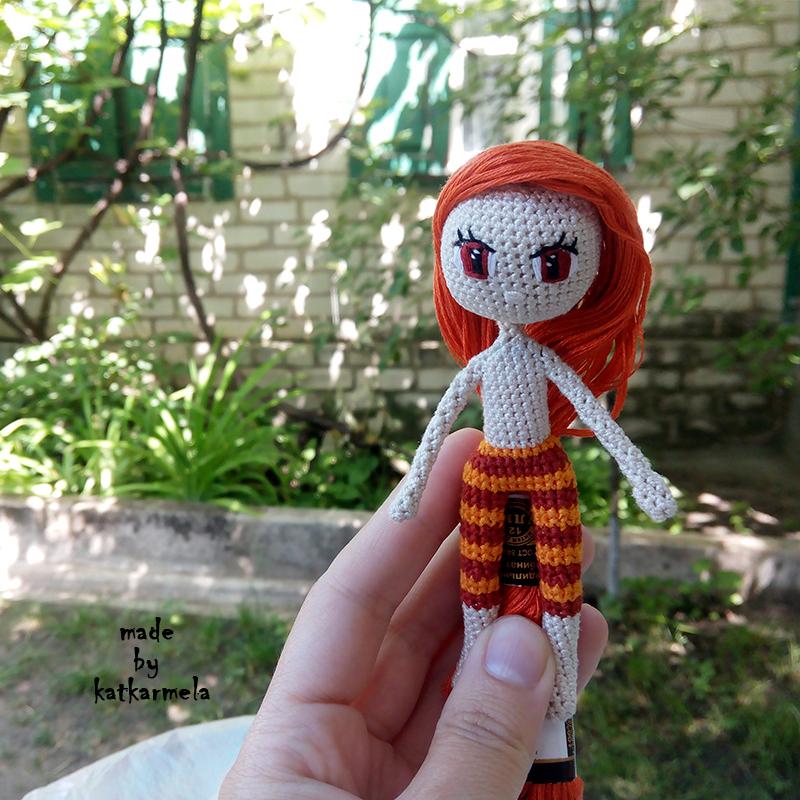 вязаная одежда для кукол крючком со схемами