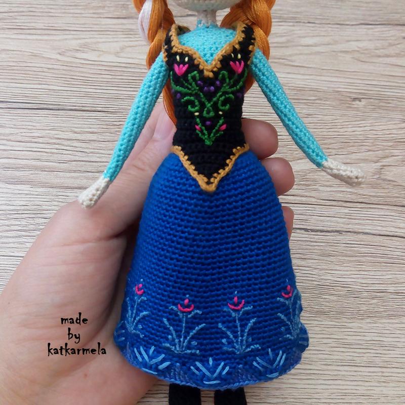 одежда для вязаной куклы
