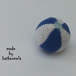 Пляжный вязаный мяч крючком