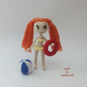 как сделать купальник для куклы
