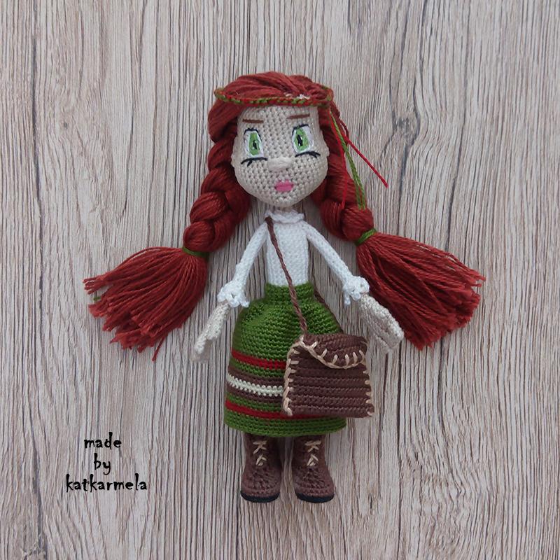 связанная одежда для кукол крючком