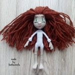 Схема, как связать тело крючком: кукла с пальцами