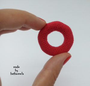 вязаный круг крючком