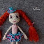 Одежда для кукол крючком со схемами: циркачка Таша