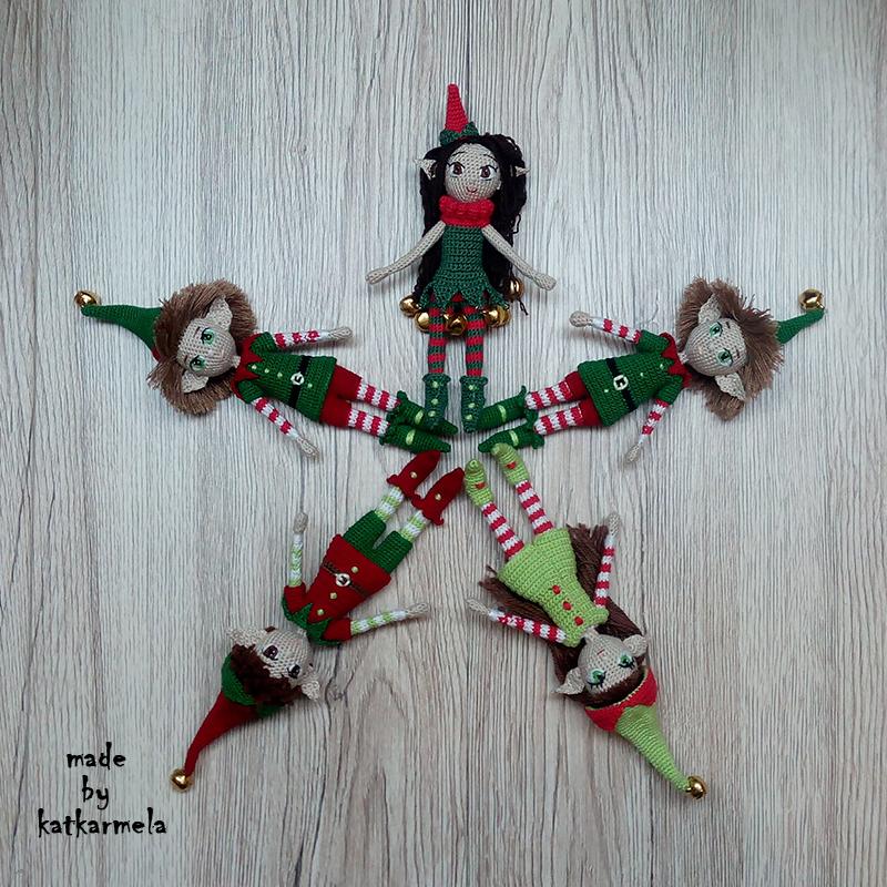Crochet elf doll amigurumi pattern - Amigurumi Today | 800x800