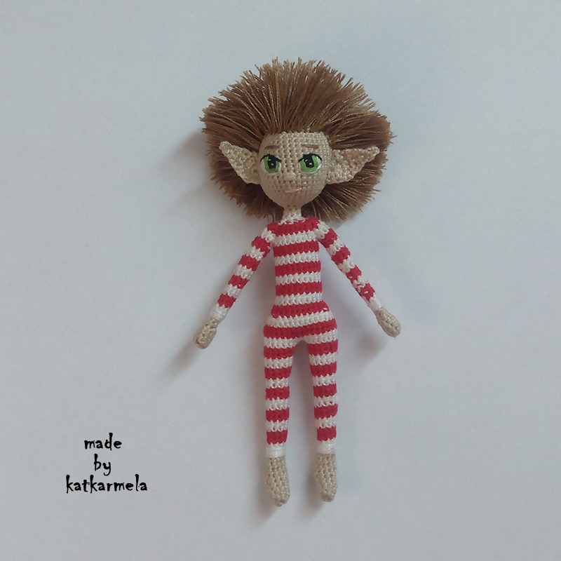 amigurumi crochet doll elf