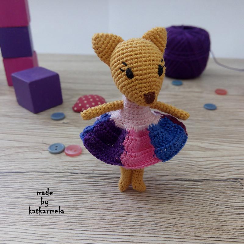 fox amigurumi crochet