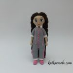 Amigurumi doll Sonya, part 1: how to knit a body