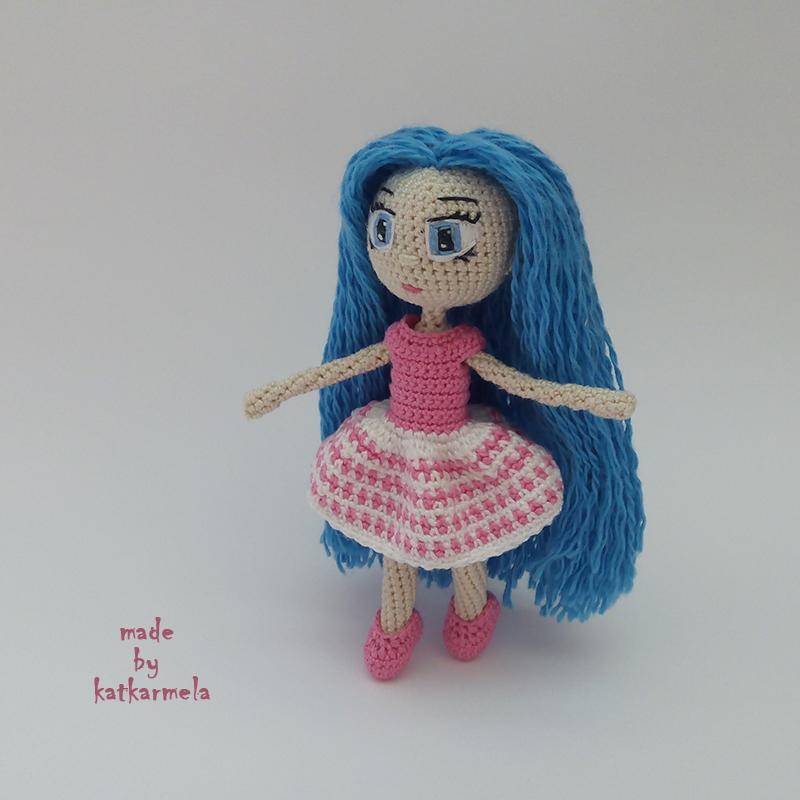 free pattern crochet doll