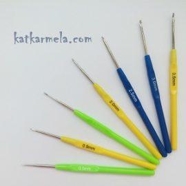 Как правильно выбрать крючок для вязания