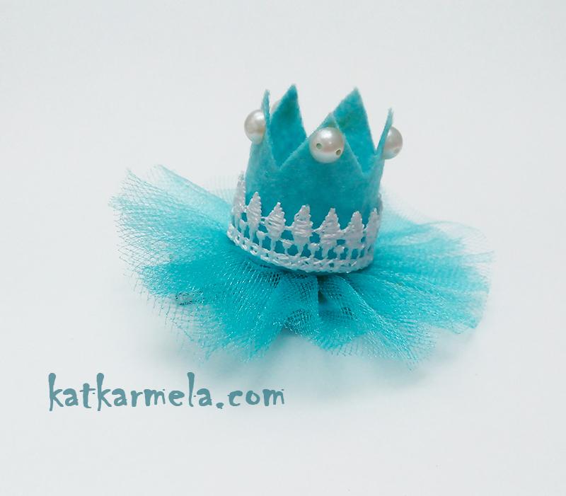 Как сделать корону из фетра