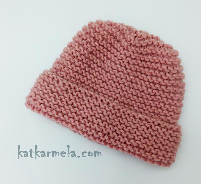 схема шапки платочной вязкой