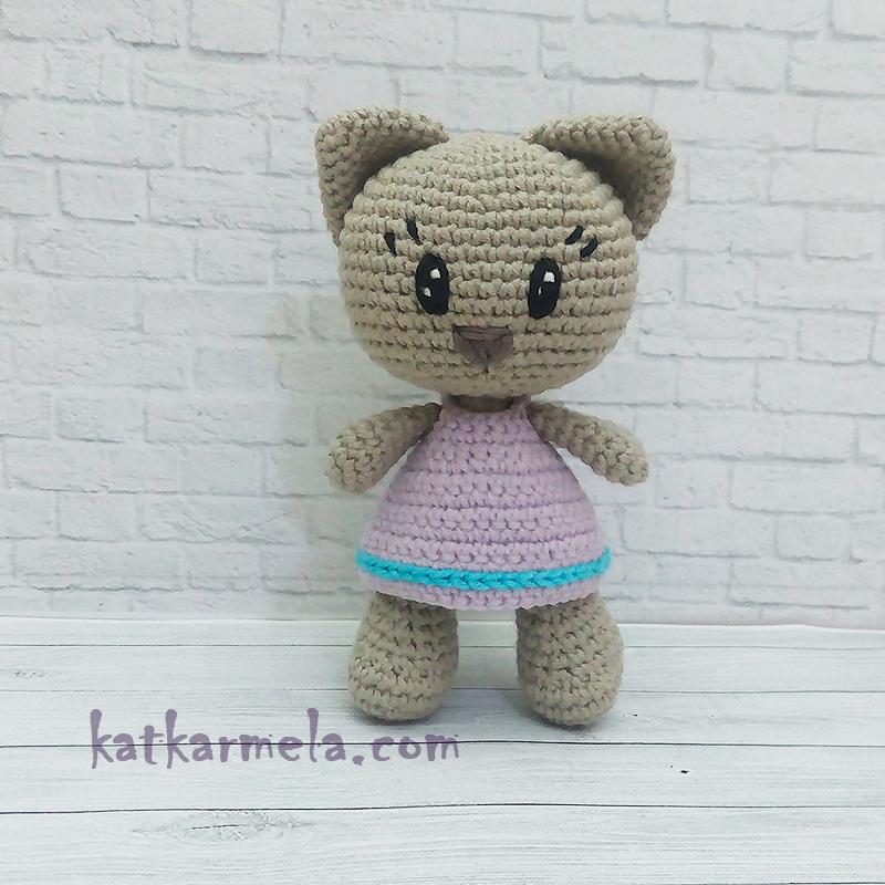Crochet Amigurumi Kitten: Free Pattern