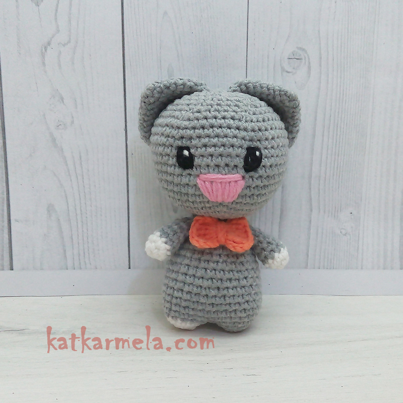 Crochet Cat Amigurumi free pattern