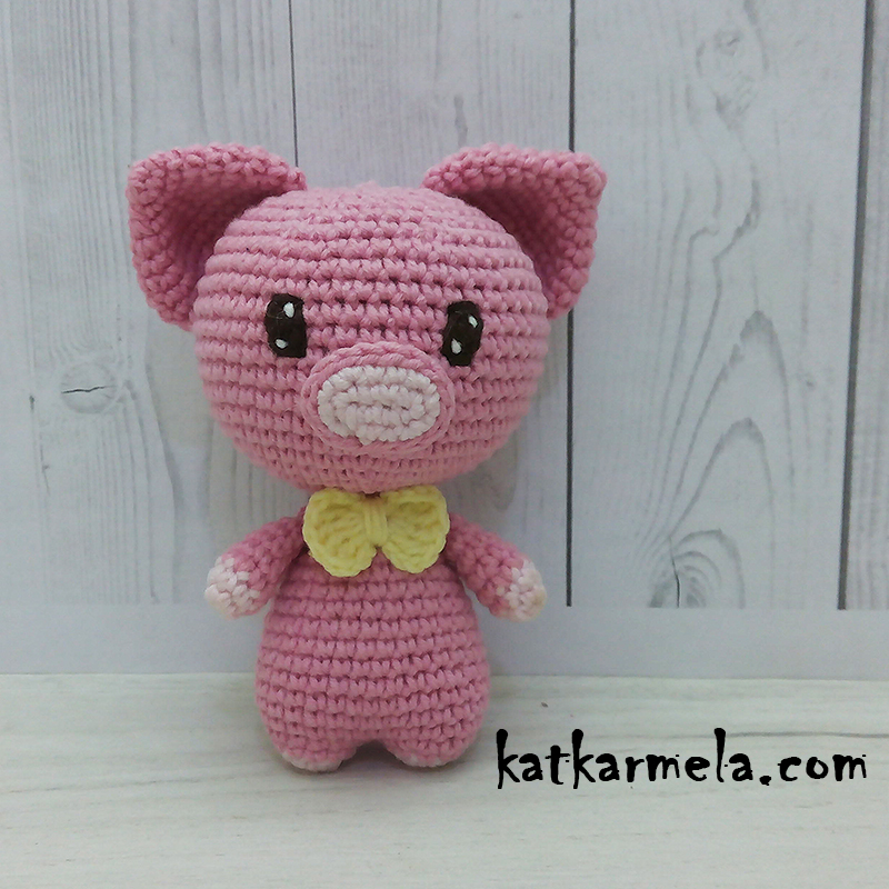 Crochet Pig Amigurumi Free Pattern