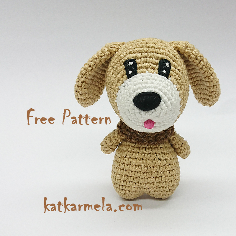 How to Crochet a Dog Amigurumi