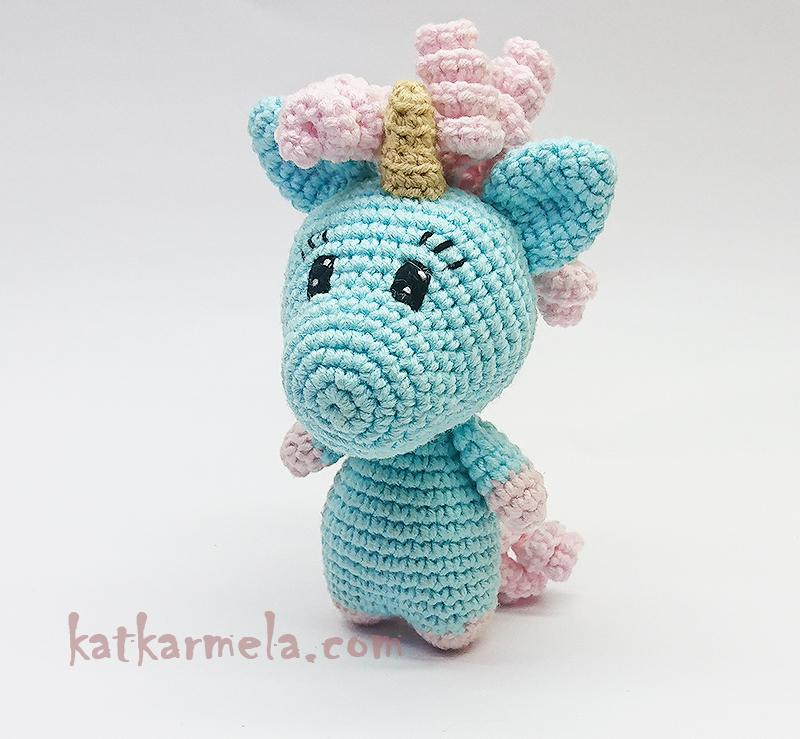 Unicorn Amigurumi Pattern by Katkarmela