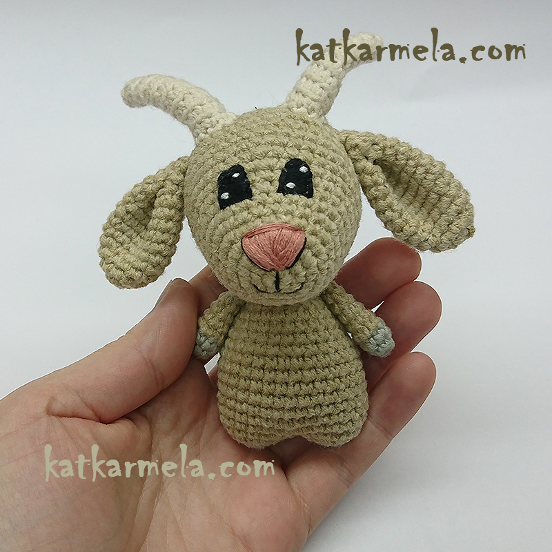 How to crochet a goat amigurumi